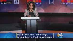 Oprah Winfrey Launching Wellness Arena Tour In Fort Lauderdale [Video]