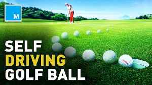 This 'self-driving' golf ball will make you want to enter the Masters [Video]