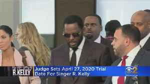 R. Kelly Faces April Trial Date For Federal Sex Crimes Case In Chicago [Video]
