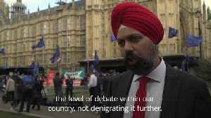 Sikh MP explains why he challenged Boris Johnson over 'letterbox' comments [Video]