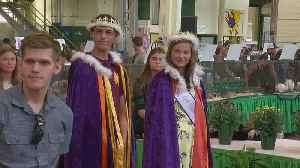 Poultry Prince, Princess Crowned At State Fair [Video]
