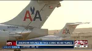 American Airlines retires iconic MD-80; aviation maintenance technician reflects on career [Video]