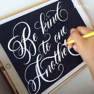 Artist combines technology and calligraphy to create the most mesmerizing work [Video]