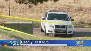 Police Search For Driver After Bicyclist Dies In Crash [Video]