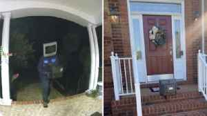 Police Say They Know the Identity of Masked Man Leaving Vintage TVs on VA Doorsteps [Video]