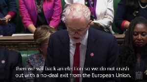 Jeremy Corbyn: I will approve an election when this Bill has passed [Video]