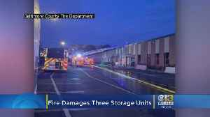 Weekend Two-Alarm Fire At Woodlawn U-Haul Storage Facility Under Investigation [Video]