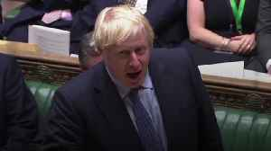 News video: Boris Johnson accuses Jeremy Corbyn of wanting to 'stop the people from voting'