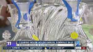 The Clearing House holds annual Sidewalk Sale in Timonium [Video]