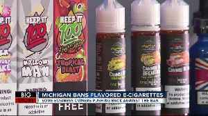 Michigan becomes first state to ban flavored e-cigarettes today [Video]
