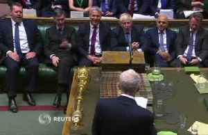 News video: UK lawmakers vote to block a 'no-deal' Brexit