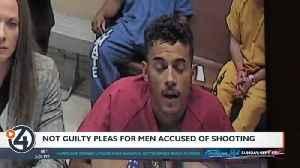 Not guilty pleas for men accused of shooting EWU students [Video]