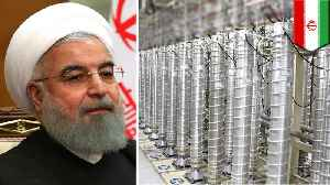 News video: Iran to develop centrifuges for faster uranium enrichment