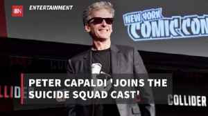 The 'Suicide Squad' Welcomes Peter Capaldi [Video]