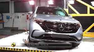 Mercedes-Benz EQC - Crash Tests 2019 [Video]
