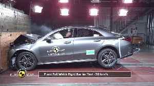 Mercedes-Benz CLA - Crash Tests 2019 [Video]