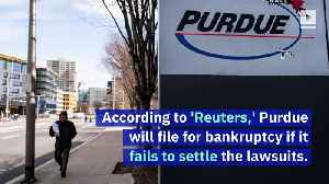 Opioid Maker Purdue Pharma May File for Bankruptcy [Video]