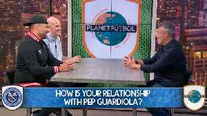 Domènec Torrent On His Relationship With Pep Guardiola [Video]