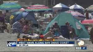 Heat wave along San Diego Coast [Video]