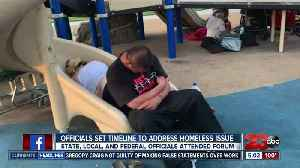 Federal, state and local officials issue plan for Bakersfield homelessness [Video]