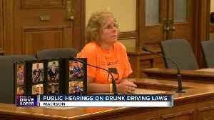 Officials seek tougher laws for drunk driving [Video]