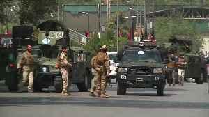 Taliban strikes Kabul again near U.S. embassy [Video]