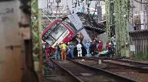 Truck and train collision in Japan kills one, injures at least 34 [Video]