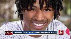 18-year-old killed in double shooting [Video]