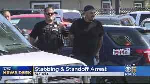 Man Arrested After San Jose Street Fight, Stabbing [Video]
