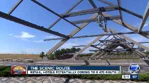 Land for sale along E-470 could be used for gas stations, retail space or hotels [Video]