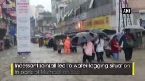 IMD issues Red Alert as heavy downpour halts normal life in Mumbai [Video]
