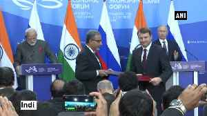 News video: India and Russia exchange agreements in presence of PM Modi and Russian President Putin