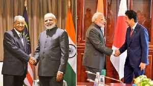 PM Modi meets Shinzo Abe, Malaysian premier; discusses extradition of Zakir Naik [Video]