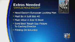 Extras Needed For Seth Rogen Movie [Video]