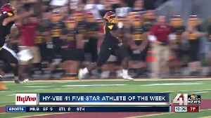 Winnetonka junior RB Montre Moore wins Hy-Vee 41 Five-Star Athlete of Week [Video]