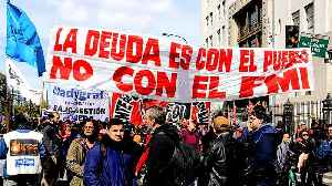 Argentina's markets hold steady as protesters take to the streets [Video]