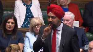 British MP Tanmanjeet Singh Dhesi slams Boris Johnson over racist remarks [Video]