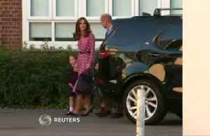 UK's Princess Charlotte's first day of school [Video]