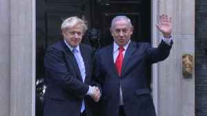 Embattled Johnson welcomes Israel's Netanyahu [Video]