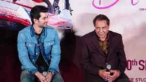Dharmendra teases grandson Karan Deol at upcoming movie's trailer launch [Video]