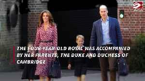 Princess Charlotte starts school [Video]