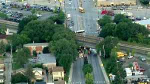 Metra SouthWest Service Halted After Truck Strikes Bridge Near Wrightwood [Video]