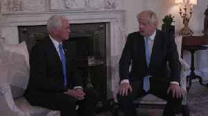 Johnson warns Pence: NHS not on table in post-Brexit trade deal [Video]