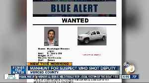 Statewide search on for suspect in Northern California deputy shooting [Video]