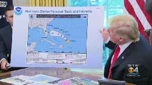 President Trump Receiving Criticism For Use Of Altered Hurricane Dorian Forecast Map Showing Alabama In Storm's Path [Video]