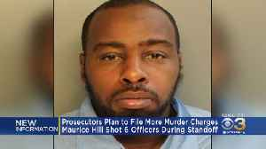 Prosecutors Plan To File More Murder Charges Against Suspect Who Shot 6 Officers During Standoff [Video]