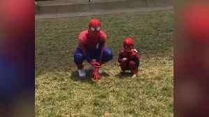 'Spiderman Needs Our Help': Community Supports Local Superhero Injured in Accident [Video]