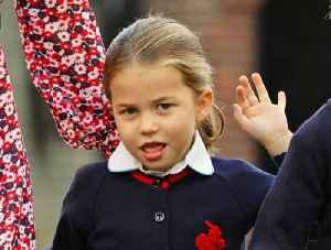 News video: Princess Charlotte Starts School