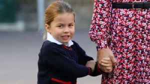 Princess Charlotte begins first day of school [Video]