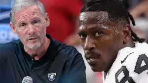 News video: Antonio Brown Facing SUSPENSION After Threatening To Hit Raiders GM In The FACE!